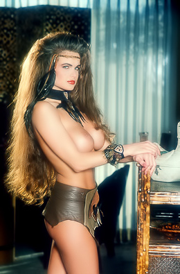 Tiffany Burlingame Penthouse Pet Of The Month For February 1994